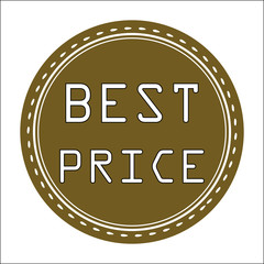 Best Price Icon, Badge, Label or Sticke