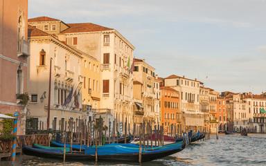 Venedig, Altstadt, historische Häuser, Canale Grande, Italien