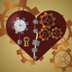 Steam Punk Heart