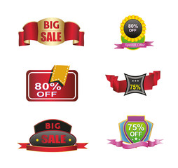 Collection-sales-off-discount-icon-logo-vector-material