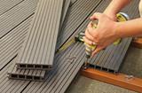 terrasse en plancher composite - 67922373