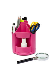 the holder for office tools