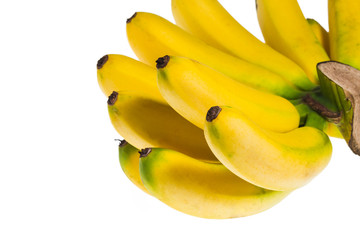 Bananas isolated