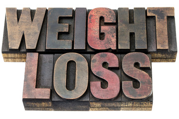 weight loss in wood type