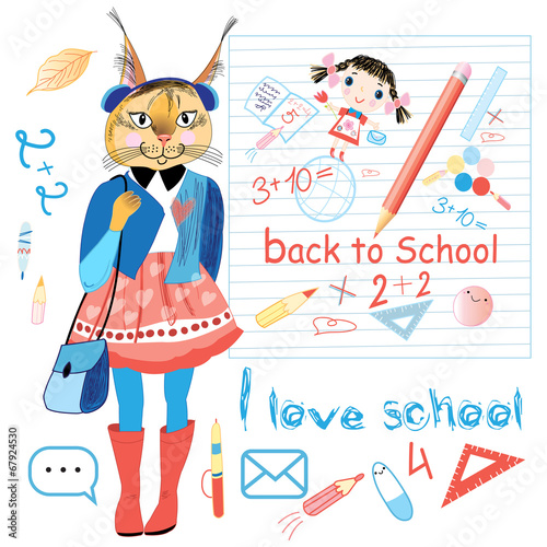 funny schoolgirl trot - 67924530