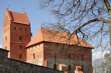 Medieval castle in Trakai