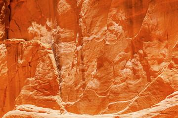Orange Sandstone Canyon Abstract Arches National Park Moab Utah