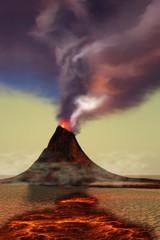 Mountain Volcano