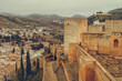 city view Granada, Alhambra