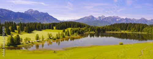 Panorama Landschaft in Bayern - 67926901