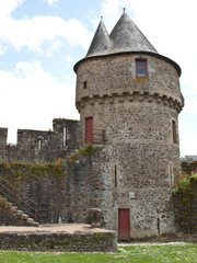 Fougeres Castle in Normandy