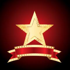 star bulb banner