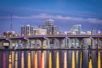 Miami, Florida Cityscape