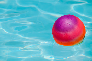 Ball in pool
