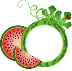 Watermelon Photo Frame