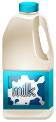 A milk container