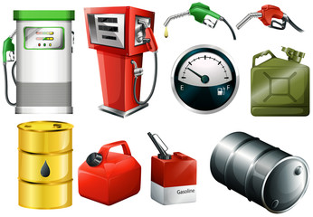 Different fuel cans
