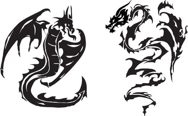 Dragonsof a  tattoo