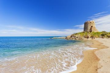 Barisardo beach.Sardinia.