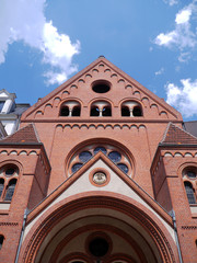 Red brick church, Berlin