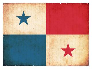 Grunge-Flagge Panama