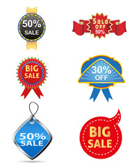 sale off tag vector icon