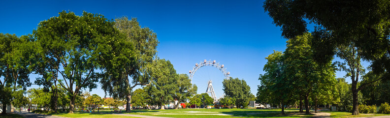 Giant ferris wheel, Vienna