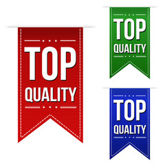 Top quality banner design set