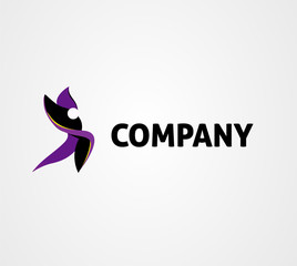 Dance logo icon design
