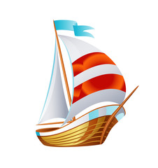 Sailing icons vector art symbol