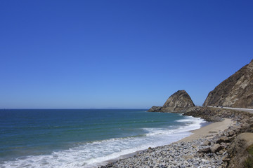 Beach at Point Mugu, Ventura, California
