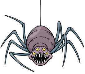 Vector illustration of Spider