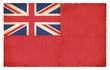Grunge-Flagge Großbritannien (Handelsflagge)
