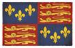 Grunge-Flagge England Tudor (1406-1603)