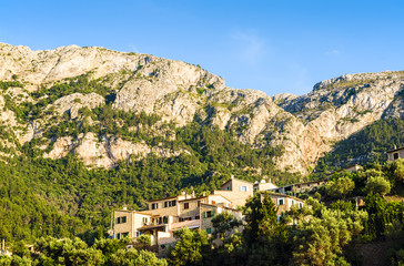 Deia village on Majorca