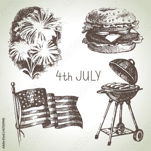 4th of July set.