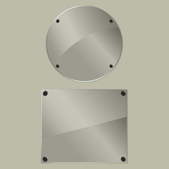 bolted glass plates