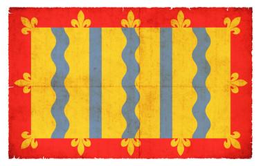 Grunge Flagge Cambridgeshire (Großbritannien)