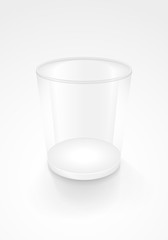 image of an empty glass