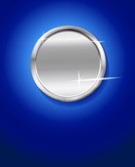silver badge vector