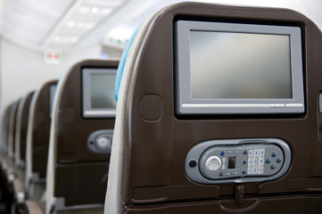 Entertainment system onboard airliner