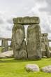 Leinwanddruck Bild - Ancient prehistoric stone monument Stonehenge near Salisbury, UK