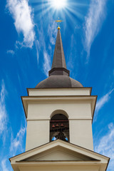 Christian church bell tower