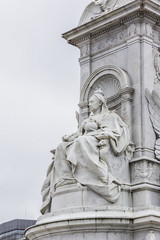 Queen Victoria Memorial (1911) near Buckingham Palace, London UK