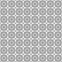 Arabian seamless net pattern