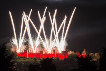 assedio al castello