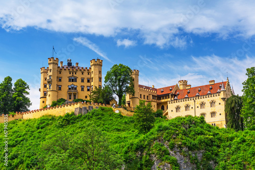 Hohenschwangau Castle in the Bavarian Alps, Germany - 67945535