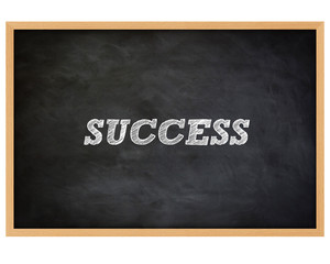 SUCCESS - handwritten concept chalkboard