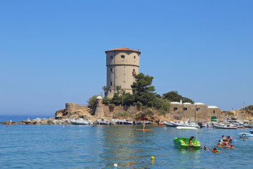 Torre del Campese, Giglio Island, Tuscany, Italy