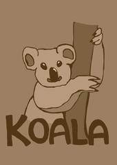 Vintage koala